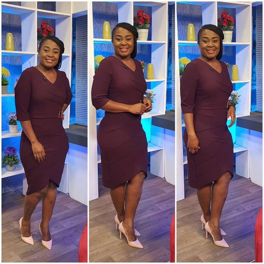 10 Times Afia Amankwah Tamakloe Dazzles In Decent Dresses Yet Still Looks Beautiful - Photos 7