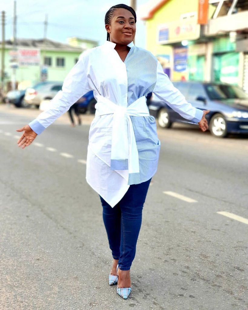 10 Times Afia Amankwah Tamakloe Dazzles In Decent Dresses Yet Still Looks Beautiful - Photos 2