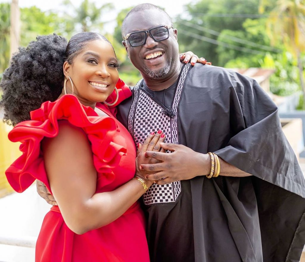 Gloria Sarfo Sparks Dating Rumors With Dada Boat 2