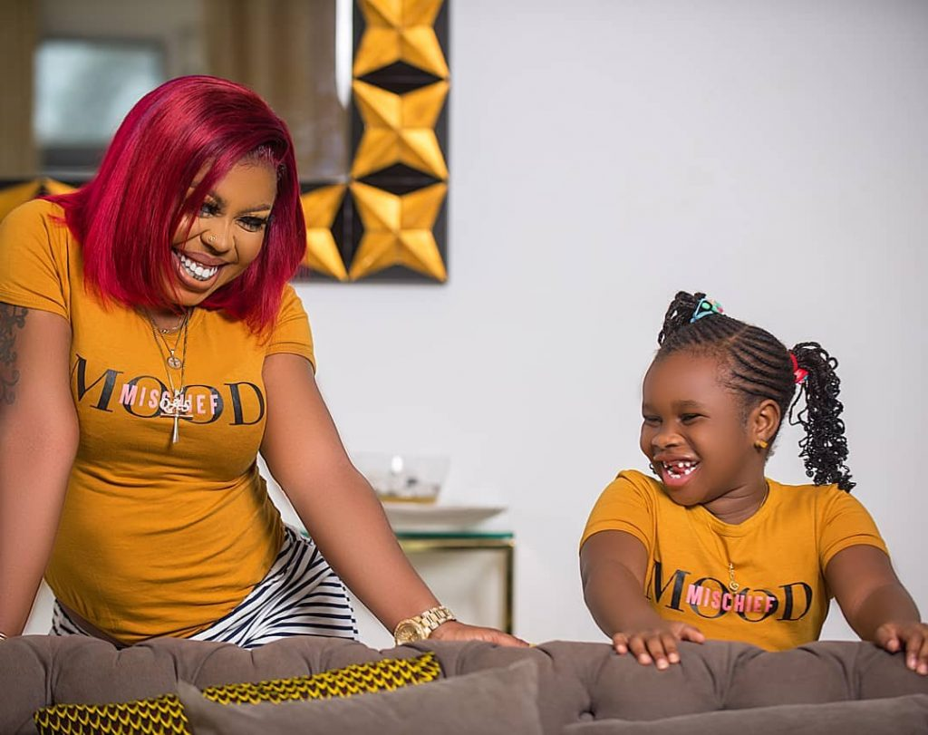 Afia Schwarzenegger And Pena gives fans lovely pictures to end the month of June 2