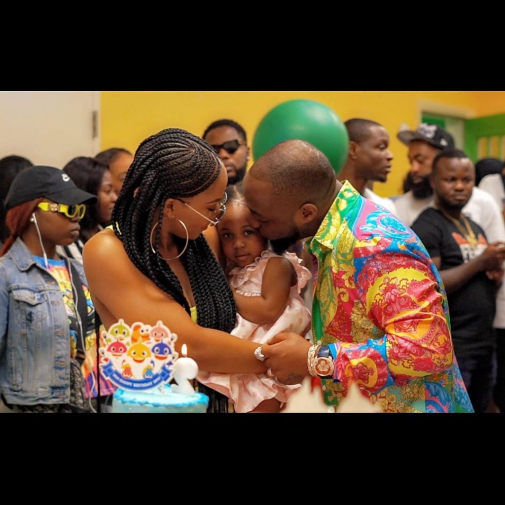 Who is the more pretty among Davido's 3 daughters? (Photos) 5