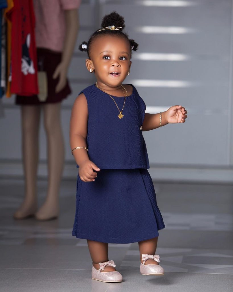 10 pictures of Baby Maxin that shows she is growing up fast and pretty (photos) 8