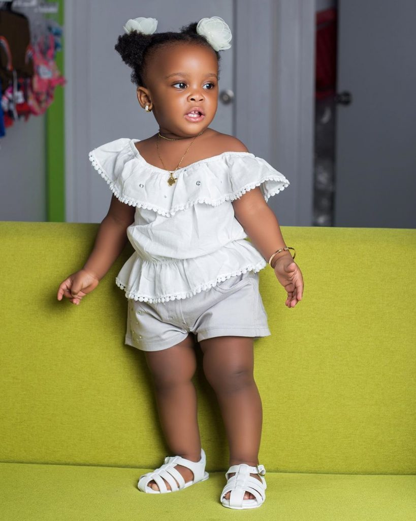 10 pictures of Baby Maxin that shows she is growing up fast and pretty (photos) 7