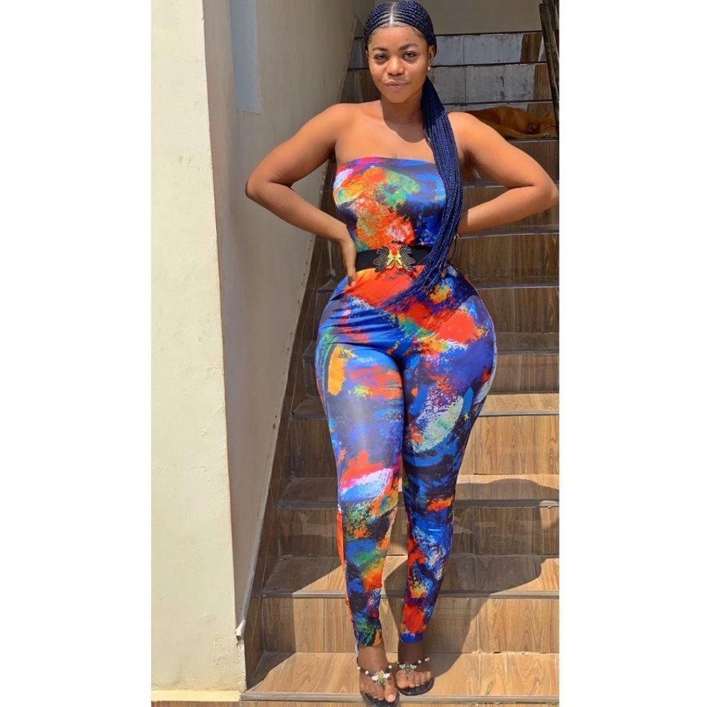Yaw Dabo's Girlfriend, Vivian Okyere Causes Stir As She Drops Some Hot Photos 5