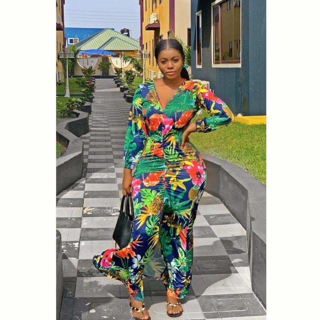 Yaw Dabo's Girlfriend, Vivian Okyere Causes Stir As She Drops Some Hot Photos 4