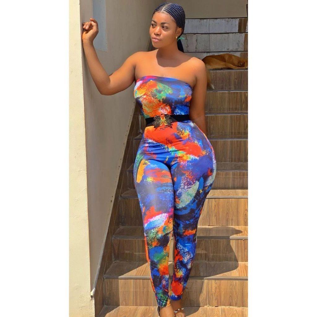 Yaw Dabo's Girlfriend, Vivian Okyere Causes Stir As She Drops Some Hot Photos 3