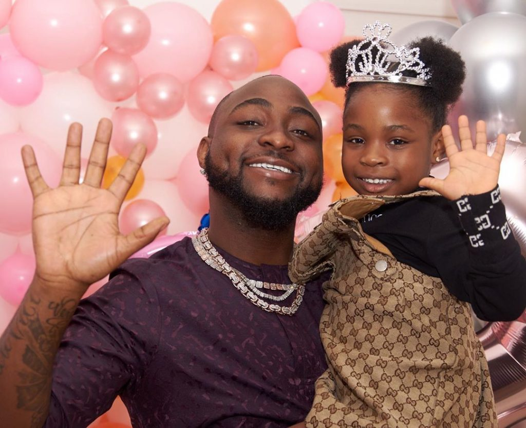 Who is the more pretty among Davido's 3 daughters? (Photos) 2