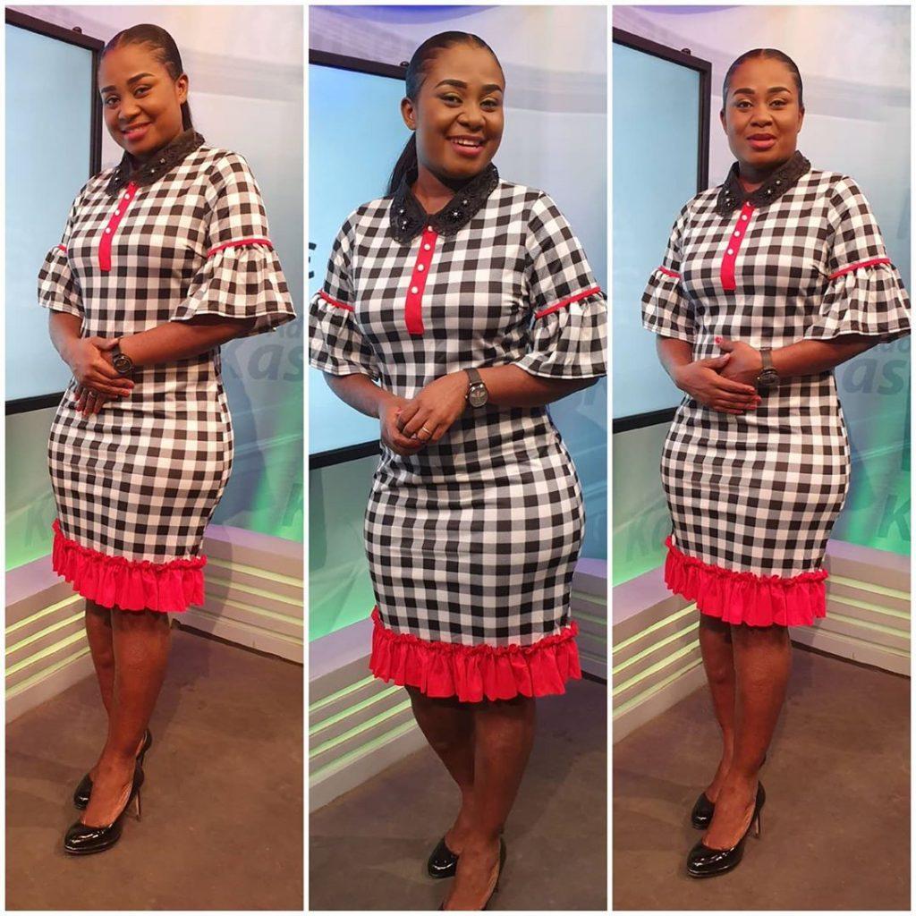 10 Times Afia Amankwah Tamakloe Dazzles In Decent Dresses Yet Still Looks Beautiful - Photos 10