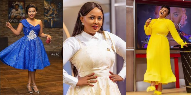 Nana Ama Mcbrown stuns in new photos as she Takes Us Back To Her Twenties in Cinderella Dress 1