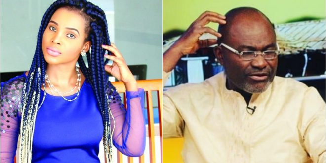 Benedicta Gafah blast critics after being exposed by Kennedy Agyapong 1
