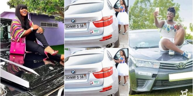 Expensive cars of 5 famous female celebs Would Tempt You to Venture into Showbiz 1