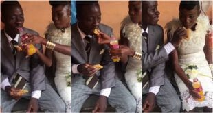 Couple trend on social media after it is alleged the budget for their wedding was less than GHc 20 58