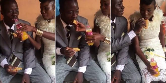 Couple trend on social media after it is alleged the budget for their wedding was less than GHc 20 1