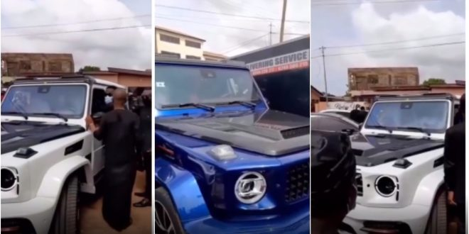 Despite Brothers Storms Kwadwo Wiafe's One-Week Observation With Their Luxurious Cars - Video 1