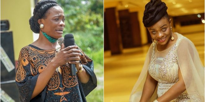Evangelist Diana Asamoah Escapes From Accident 1