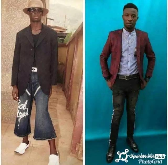 Before and after pictures of Kwaku Manu and Lil win (photos) 3