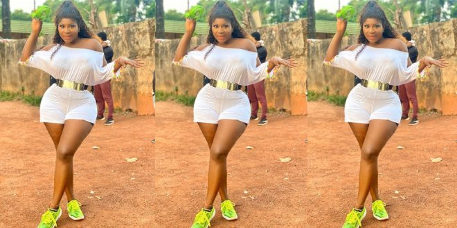 Actress Destiny Etiko cleans up and stuns in a gorgeous photo 1