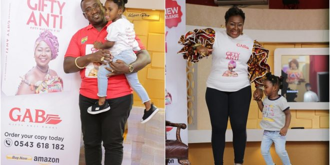 Gifty Anti pens down beautiful love message to husband on Father's Day 1