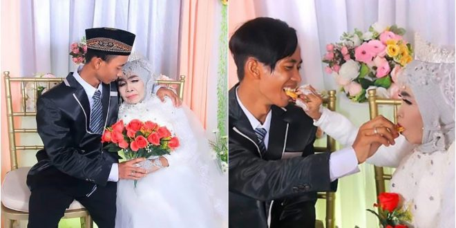 65-Year-Old Grandmother Marries Her 24-Year-Old Adopted grandSon 1