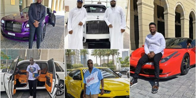 Here Are More Photos Of The Big Boys Arrested Together With Hushpuppi And Their Luxurious Lifestyle 1