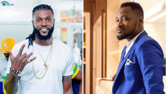 Check out Funny Face hilarious reply to Adebayor advice that he Stops Posting Unnecessary Things 2
