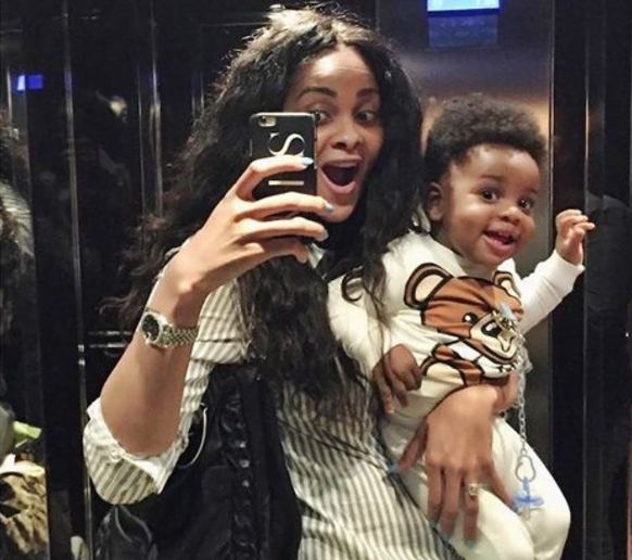 Beautiful Photos Of Former Black Star's Player Sulley Muntari, Wife, And An Adorable Son Causes Stir 2