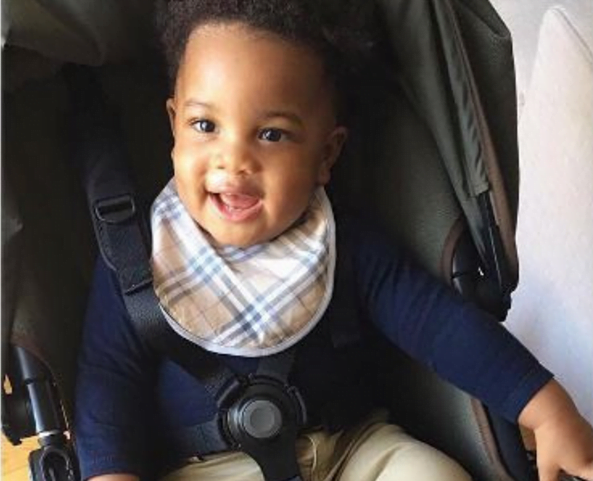 Beautiful Photos Of Former Black Star's Player Sulley Muntari, Wife, And An Adorable Son Causes Stir 3