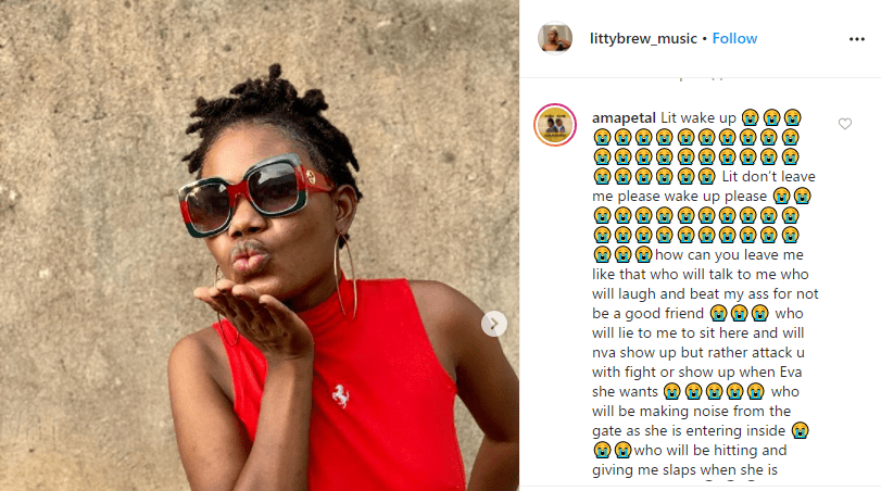 Just IN: Ghanaian Songstress Litty Brew Reported Dead 2