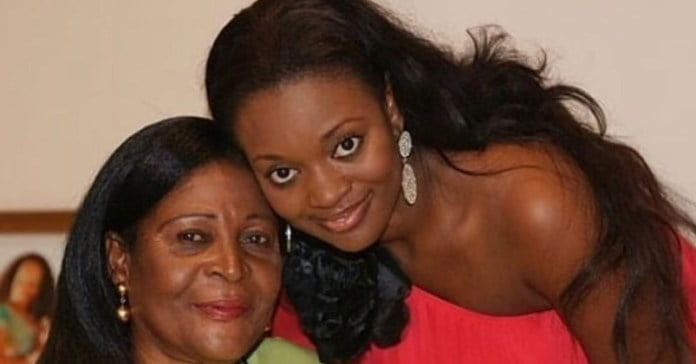 If you think Jackie Appiah is pretty, take a look at her mother (photos) 2