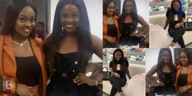 Meet Jackie Appiah's 'twin' sister whose beauty has been the talk on social media 1