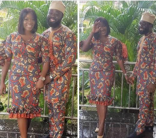 Check Out These Loved-Up Photos Of Mercy Johnson And Her Husband In Matching Outfits 5
