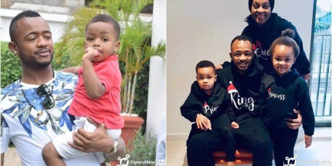 Meet theThe Adorable Kids Of black stars player Jordan Ayew - pics 1