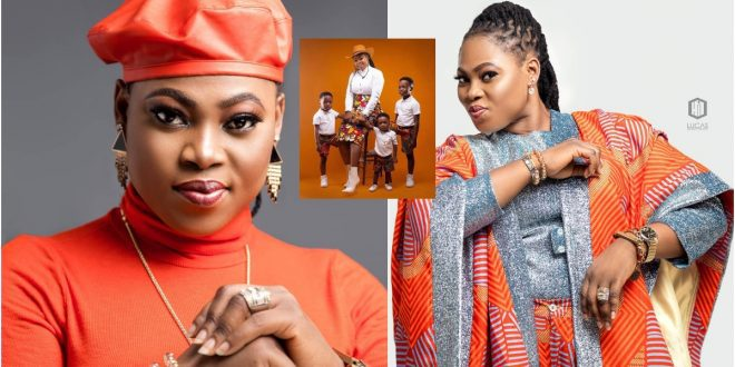 Joyce Blessing Flaunts her 3 Strong Sons On Social Media For The 1st Time 1