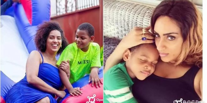 Meet The Beautiful Kid Of Actress Juliet Ibrahim 1