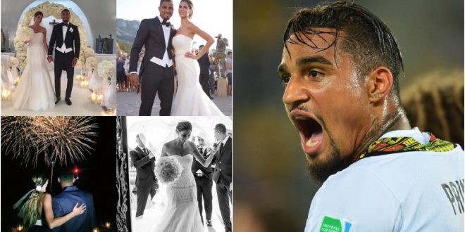 Kevin Prince Boateng 'breaks the internet' by posting his wedding pictures 1