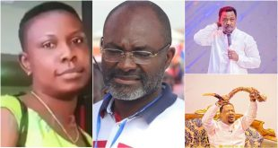 Kennedy Agyapong leaks photos of Prophet Nigel Gaisie's fiancée he allegedly murdered 72
