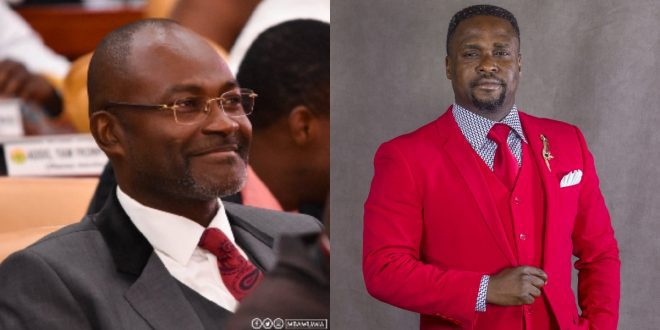 Reverend Osei Bonsu Of MOGPA Gets His Powers From 'Juju' - Kennedy Agyapong Reveals (Video) 1