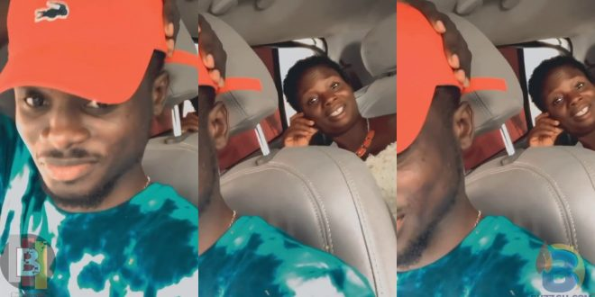 Kuami Eugene Spotted Hanging Out With His Beautiful Mother In New Video - Watch 1