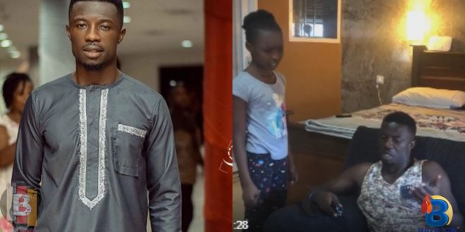 Kwaku Manu features his daughter in a new hilarious comedy 1