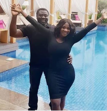 Check Out These Loved-Up Photos Of Mercy Johnson And Her Husband In Matching Outfits 2