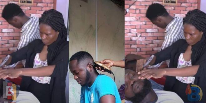 Meet The Beautiful Ghanaian Lady Who Is An Exceptional Barber - Video 1