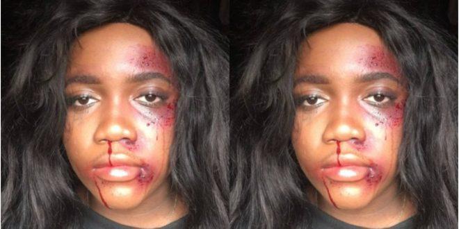 lady Severely Beaten By Her Side Guy's Girlfriend 1