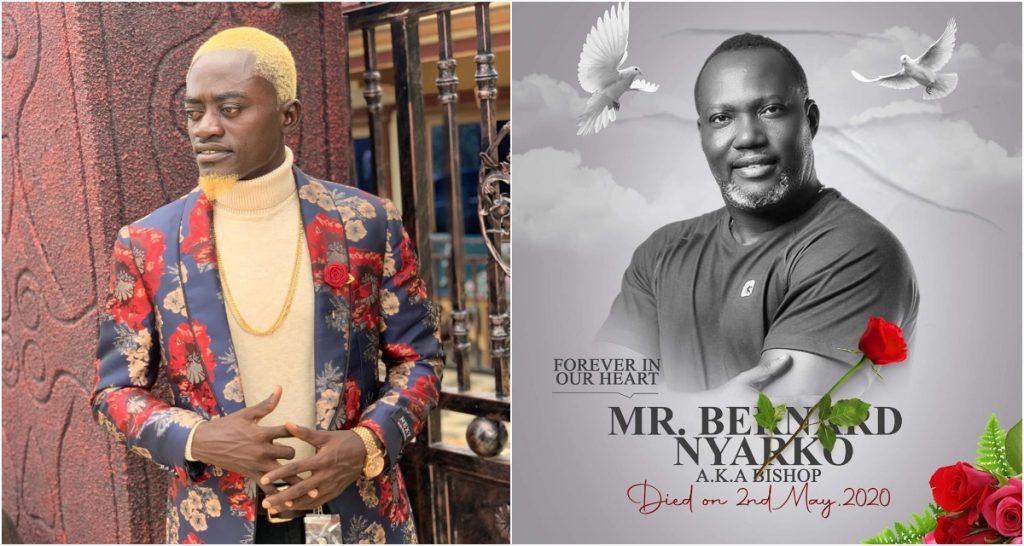 Lil win writes touching tribute to Bernard Nyarko as he is to be buried today. 2