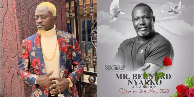 Lil win writes touching tribute to Bernard Nyarko as he is to be buried today. 1