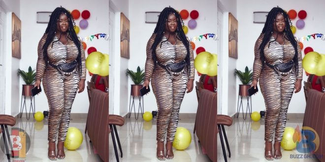 Maame Serwaa gains attention with her recent loss in weight - picture 1