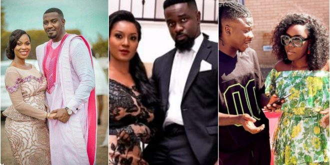 5 male celebrities and their Pretty wives (photos) 1
