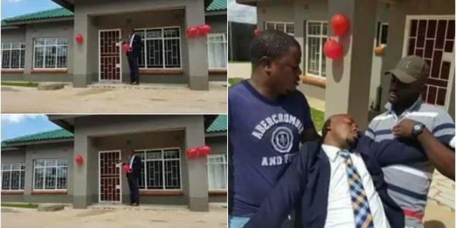Man Faints After Girlfriend Surprises Him With Two-Bedroom Flat 1
