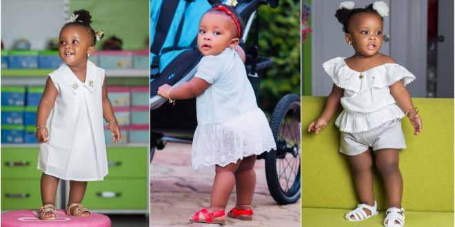 10 pictures of Baby Maxin that shows she is growing up fast and pretty (photos) 1