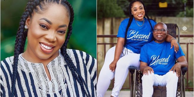 First photo of Moesha Boduong's father as she celebrates him today 1