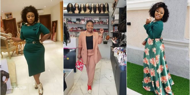 Obofour's wife gives us a taste of class in these photos 1